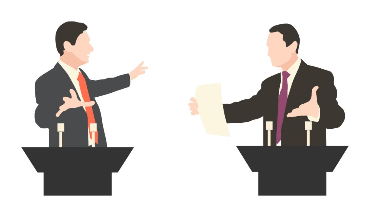 Forskellen på en samtale ogmagttale